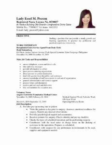 Lab Report Template Word Beautiful Sample Resume Templates with regard to Lab Report Template Word