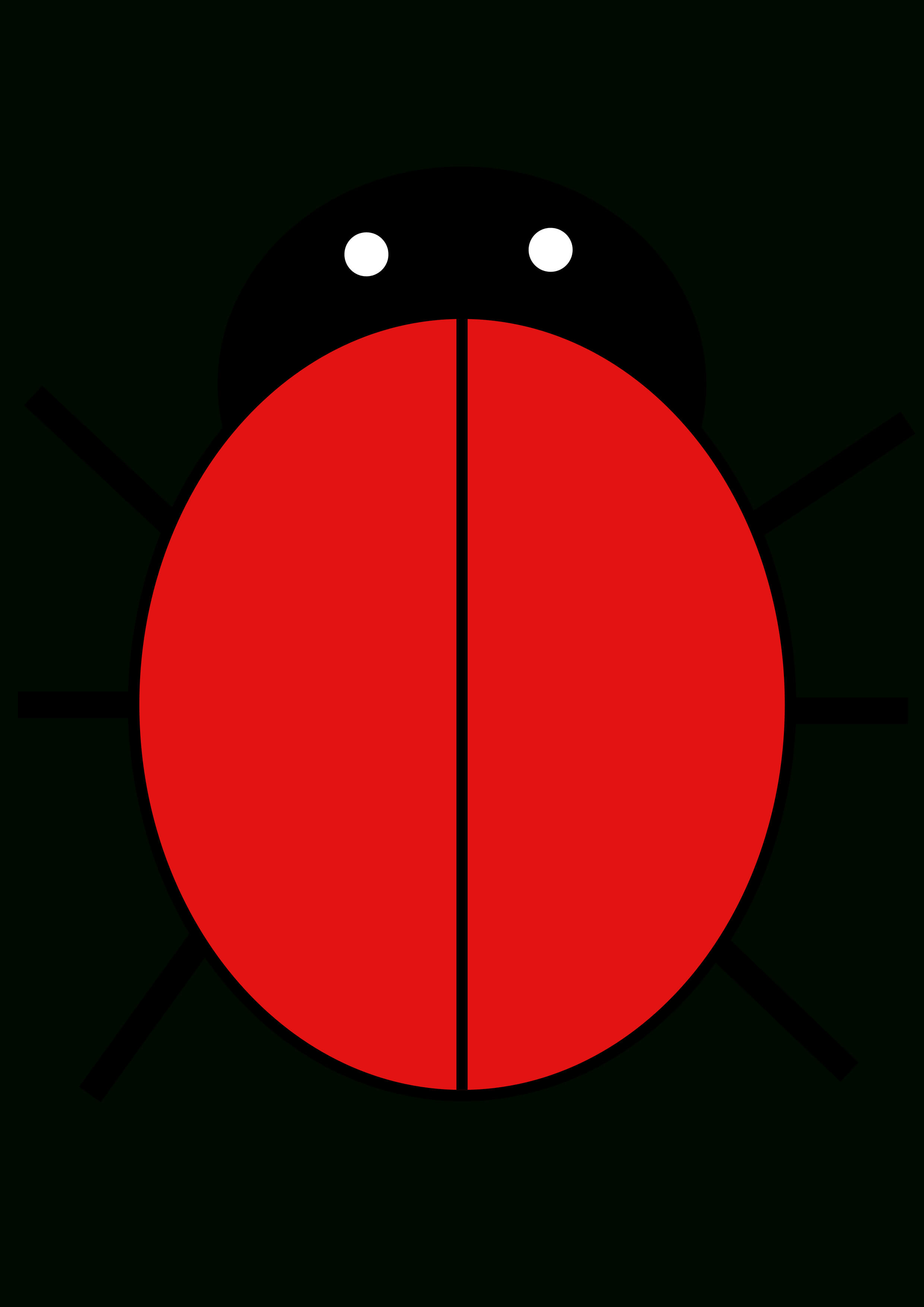Ladybird | Free Images At Clker – Vector Clip Art Online For Blank Ladybug Template