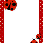 Ladybug Birthday Party With Free Printables – How To Nest With Regard To Blank Ladybug Template