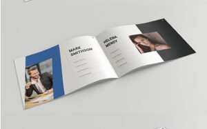 Landscape Brochure Template A4 Psd Free A5 Download Design within 4 Fold Brochure Template Word