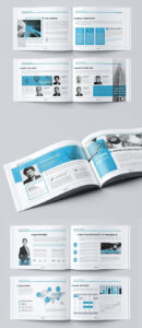 Landscape Company Brochure | Brochure Templates | Company Within Indesign Templates Free Download Brochure