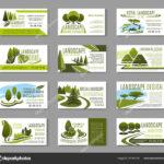Landscape Design Business Cards   Landscape Design Studio Within Gardening Business Cards Templates