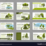 Landscape Design Studio Business Card Template Vector For Landscaping Business Card Template