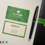 Landscaping Business Card Template With Regard To Landscaping Business Card Template