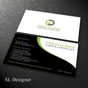Landscaping Business Cards Templates Free Sample Kit in Landscaping Business Card Template