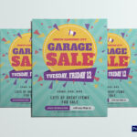 Large Garage Sale Flyer Template For Yard Sale Flyer Template Word