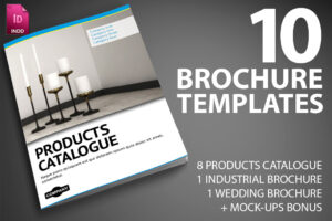 Last Day: 10 Professional Indesign Brochure Templates From in Product Brochure Template Free