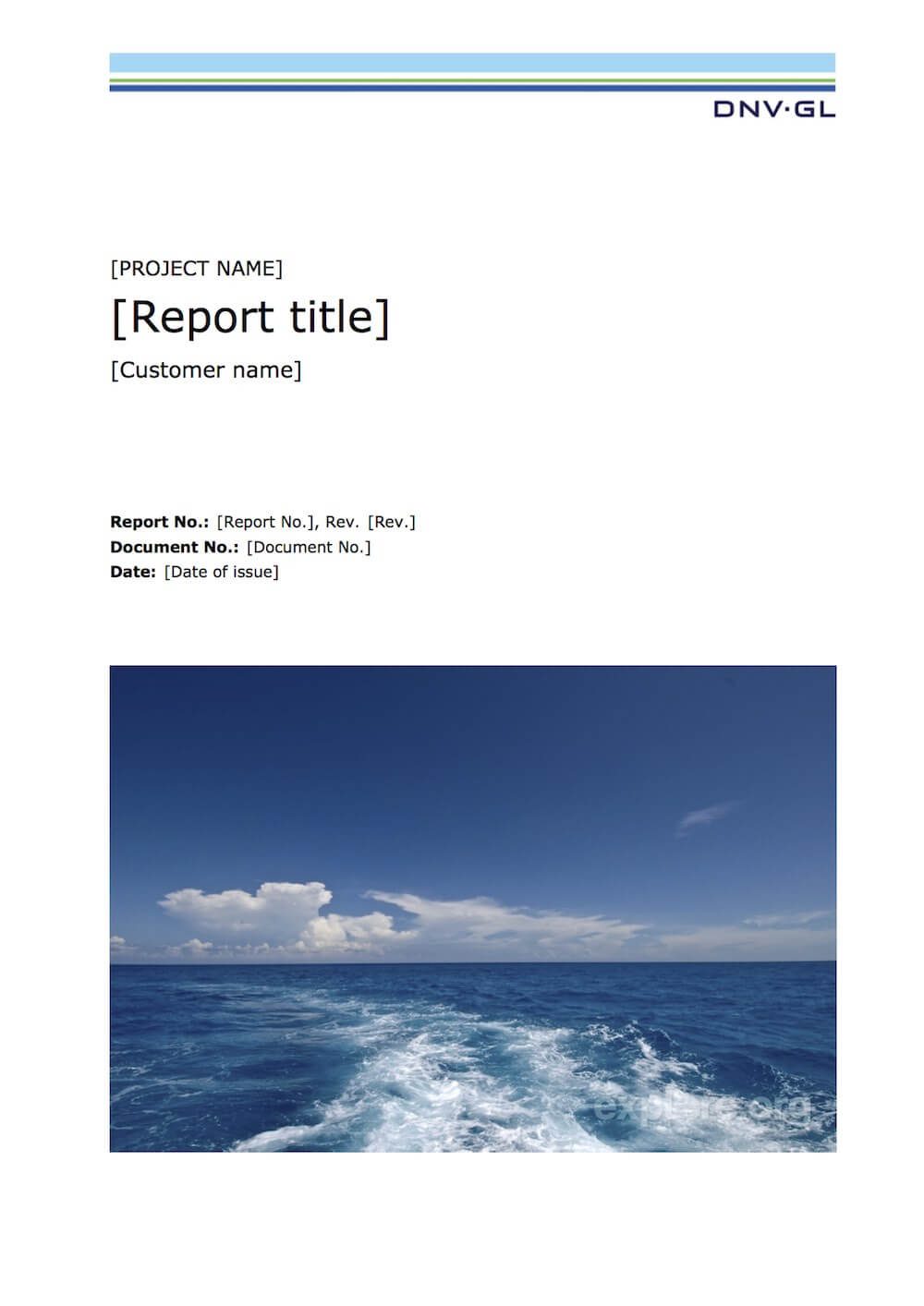 Latex Typesetting - Showcase Within Latex Project Report Template