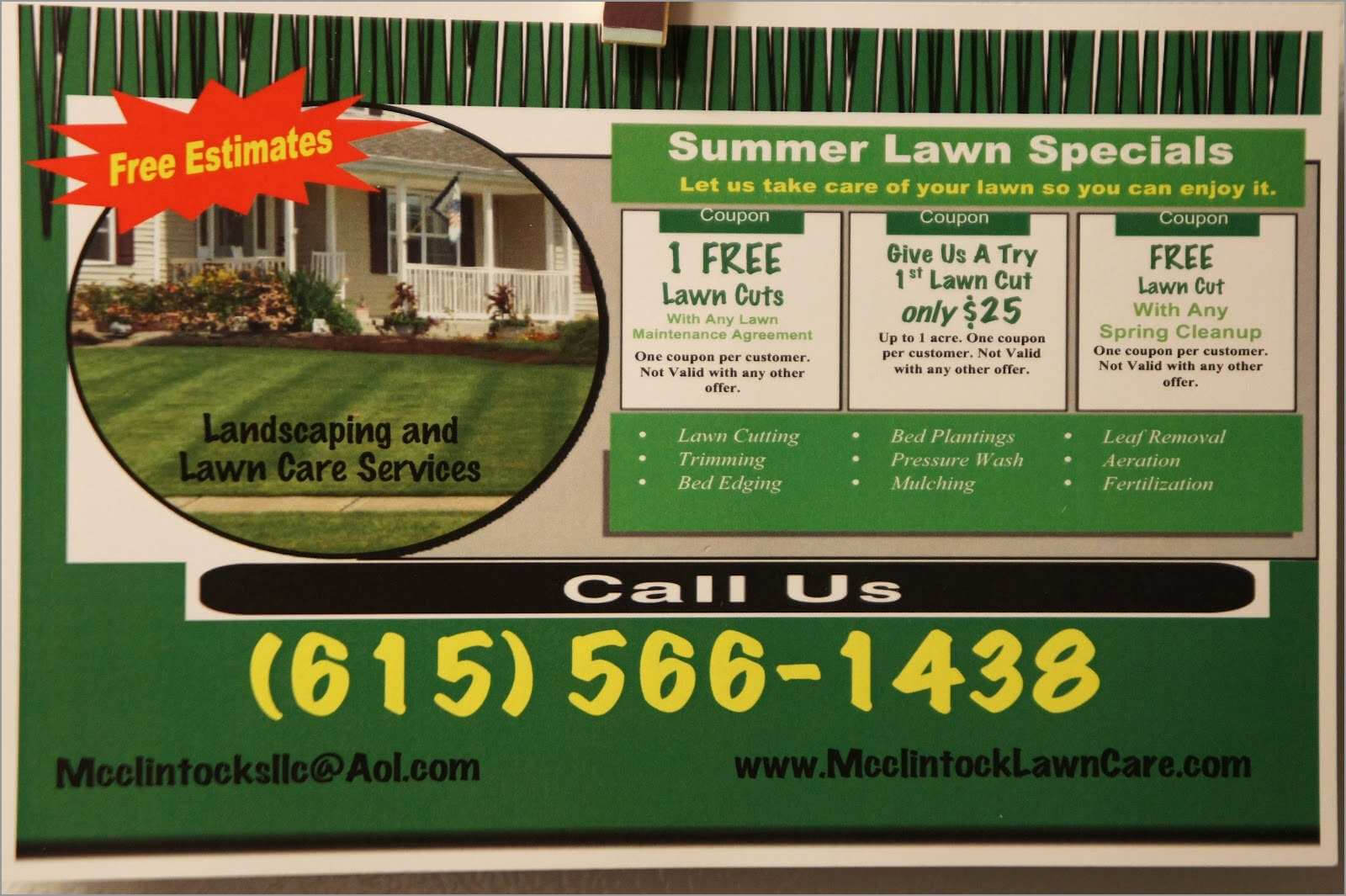Lawn Care Business Card Templates Free Downloads Astonishing Intended For Lawn Care Business Cards Templates Free