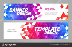 Layout Banner Template Design For Sport Event 2019 — Stock regarding Event Banner Template