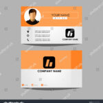 Layout Template Id Card Business Personal Stock Vector Within Personal Identification Card Template