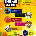 Leaflet Design For Play School Theme Parkgraphic Inside Play School Brochure Templates
