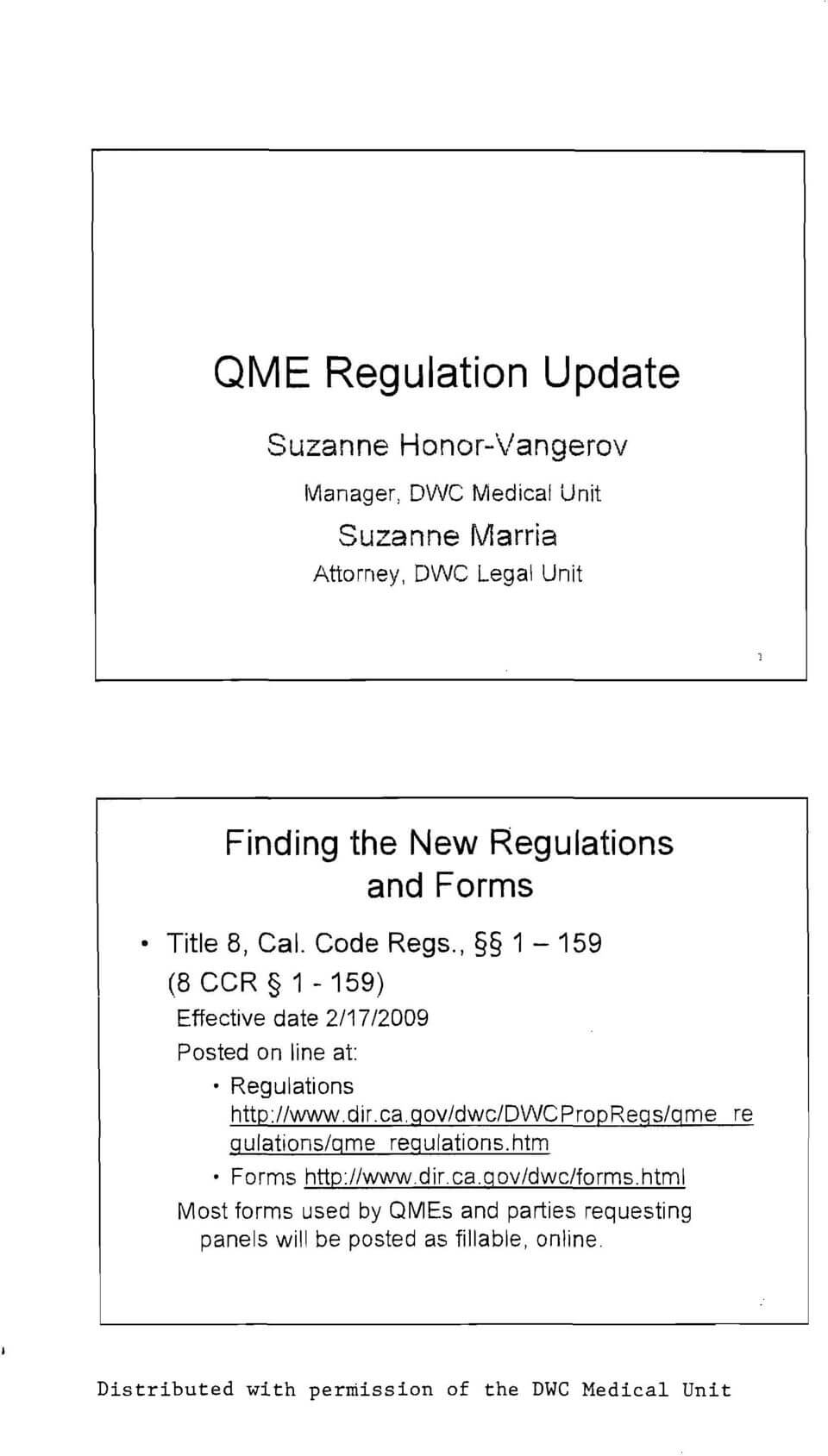Legal Updates In Workers Compensation Pdf Qme Report Within Medical Legal Report Template