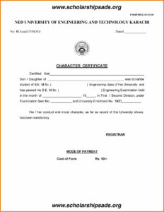 Letter Of Good Conduct Template Collection | Letter Template inside Good Conduct Certificate Template