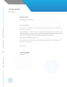 Letters – Office regarding Headed Letter Template Word