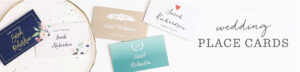 Lilac Dip Dye Place Cards For Table Name Cards Template Free