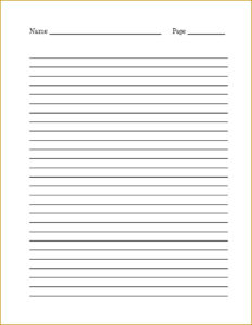 Lined Notebook Paper Template Word – Radiodignidad pertaining to College Ruled Lined Paper Template Word 2007