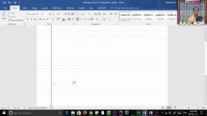 Lined Paper In Microsoft Word, Pdf regarding Microsoft Word Lined Paper Template
