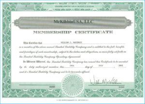 Llc Membership Certificate Template #7061 pertaining to Llc Membership Certificate Template Word