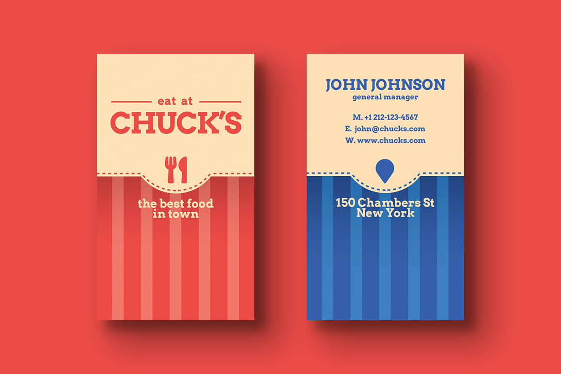 Local Diner Business Card Templates With Regard To Frequent Diner Card Template