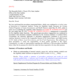 Local Eligibility Agreed Upon Procedures Report Template 2015 With Agreed Upon Procedures Report Template