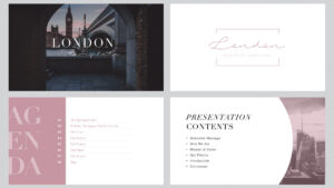 London Minimal Free Powerpoint Template pertaining to Fancy Powerpoint Templates