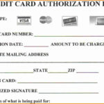 Looking To Download Credit Card Authorization Form? Then You For Order Form With Credit Card Template