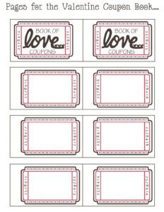 Love Coupon Template Microsoft Word | Examples And Forms with regard to Coupon Book Template Word