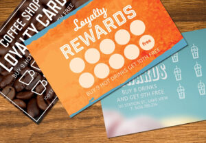 Loyalty Card Templates Mockup #organised#text#image#easy Pertaining To Loyalty Card Design Template
