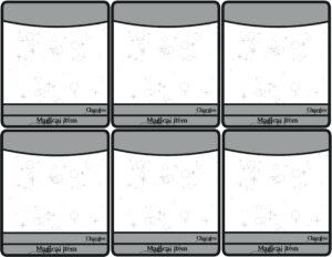 Magic Cards Printable Blank Magic Card Template Best I Made regarding Blank Magic Card Template