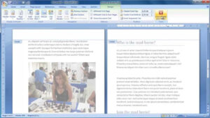 Make A Booklet From Scratch In Word 2007 pertaining to Booklet Template Microsoft Word 2007
