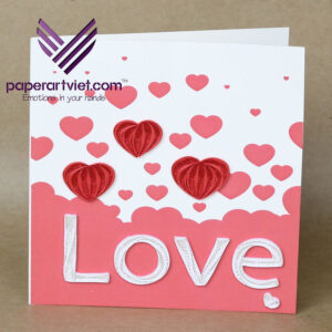 Make A Heart Pop-Up Card | Wholesale Pop-Up Cards Supplier with regard to Pixel Heart Pop Up Card Template
