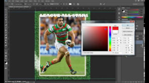 Make A Trading Card In Adobe Photoshop – Part 1 With Regard To Baseball Card Template Psd