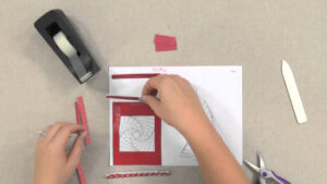 Make Cards With Iris-Folding Techniques — An Annie's Paper-Craft Tutorial in Iris Folding Christmas Cards Templates