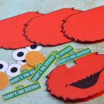 Make You Own Elmo Party Invites – An Organised Mess Inside Elmo Birthday Card Template
