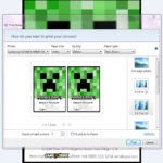 Make Your Own Custom Printable Minecraft Party Invitations For Minecraft Birthday Card Template