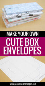 Make Your Own Cute Box Envelopes | Tutorials And Diy | Paper throughout Shut Up And Take My Money Card Template