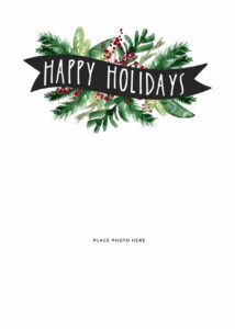 Make Your Own Photo Christmas Cards (For Free!) – Somewhat intended for Christmas Photo Cards Templates Free Downloads