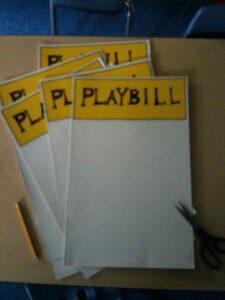 Make Your Own Playbill Template – Wovensheet.co throughout Playbill Template Word