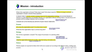 Management Case Study Strategic Analysis Sample inside Strategic Management Report Template