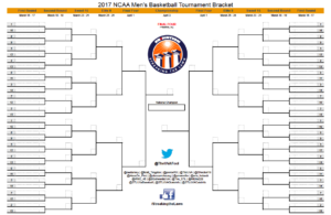 March Madness 2017: Download Your Blank Printable Ncaa pertaining to Blank March Madness Bracket Template