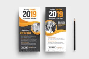 Marketing Seminar Dl Card Template – Psd, Ai & Vector for Advertising Card Template