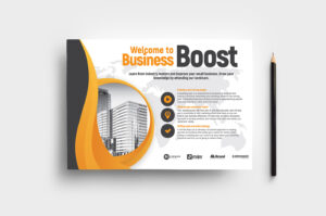 Marketing Seminar Flyer Template V2 – Brandpacks pertaining to Welcome Brochure Template