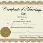 Marriage License Printable Achievement Certificate Template Throughout Certificate Of License Template