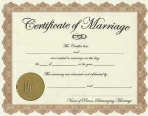 Marriage-License-Printable-Achievement-Certificate-Template throughout Certificate Of License Template
