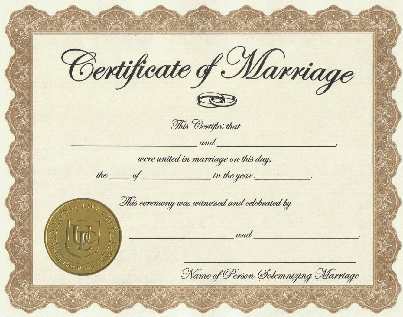 Marriage License Printable Achievement Certificate Template Throughout Certificate Of License Template