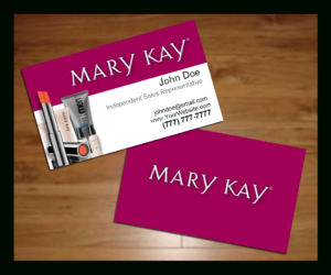 Mary Kay Business Cards Template Free | Plants | Free intended for Mary Kay Business Cards Templates Free