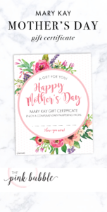 Mary Kay Mother's Day Gift Certificate! Find It Only At Www with regard to Mary Kay Gift Certificate Template