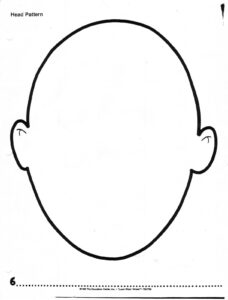Mask Of Face Blank Cut Out – Google Search | Ice Breakers intended for Blank Face Template Preschool