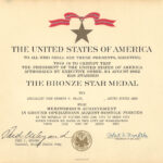 Medals within Army Good Conduct Medal Certificate Template